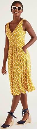 Boden Effie Jerseykleid Yellow Damen Boden