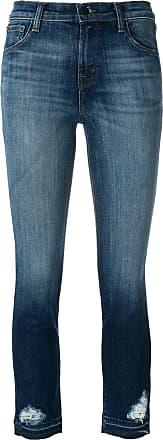 J Brand Calça jeans cropped Ruby - Azul