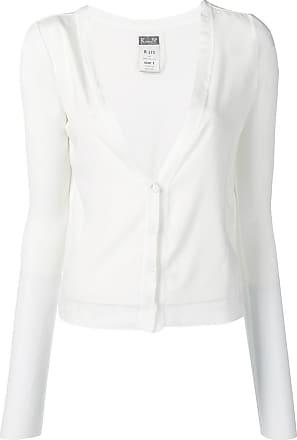 Kristensen Du Nord Cardigan básico - Branco