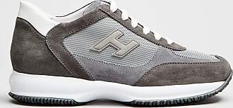 Rabaini Hogan - Sneakers in pelle scamosciata - Grigio