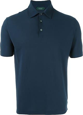 Zanone shortsleeved polo shirt - Blue