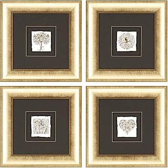 Paragon Picture Gallery Garden Framed Wall Art - Set of 4 - 7444