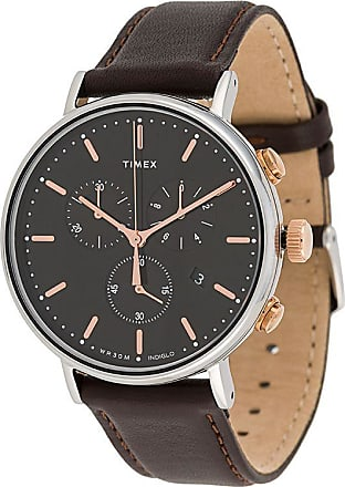 Timex Relógio Fairfield Chrono 41 - Marrom