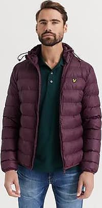 Lyle & Scott JACKA Lightweight Puffer Jacket Röd
