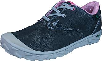 Hi-Tec Ezzeez Womens Synthetic Material Canvas Shoes Black/Grey/Blossom - 6 UK