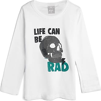 Hering Kids Camiseta Hering Kids Infantil Caveira Branca