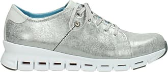 Wolky Comfort Trainers Mega - 70120 Silver Leather - 38