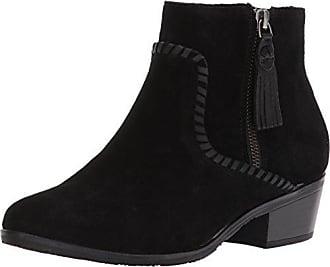 8898e31daf27 Jack Rogers Womens Dylan Waterproof Ankle Boot Black Suede 6.5 M US