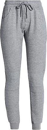 Zoe Karssen Zoe Karssen Woman Cotton-blend Track Pants Light Gray Size XS
