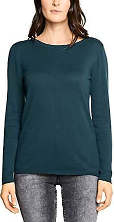 Cecil Damen Pullover 300675, Blau (Deep Blue 10128), Medium