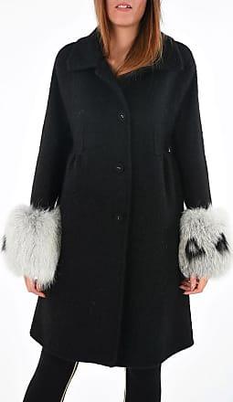 Ermanno Scervino Coat with Real Fur Details size 40