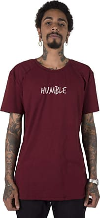 Stoned Camiseta Longline Gold Humble Bordô G