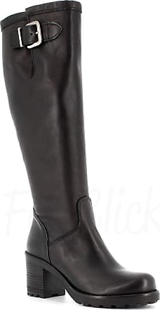 Generico Made in Italy Leather Boot with Zip - Black Black Size: 6 UK