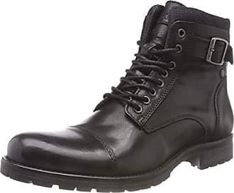0a085416e8c Jack & Jones Jfwalbany Leather Anthracite STS, Botas Estilo Motero para  Hombre, Gris,
