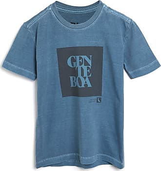 Reserva Mini Camiseta Reserva Mini Infantil Gente Boa Azul