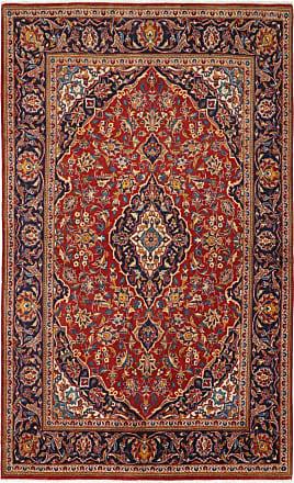 Nain Trading 230x141 Tappeto Persiano Keshan Marrone/Viola (Annodato a mano, Persia/Iran, Lana)