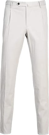 PT01 Fashion Man DL11Z00PA2TU180200 White Cotton Pants | Spring Summer 20