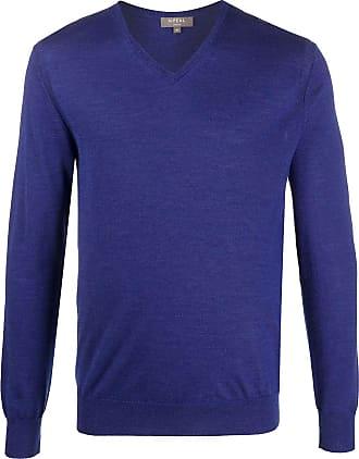 N.Peal The Conduit FG V-Neck jumper - Blue