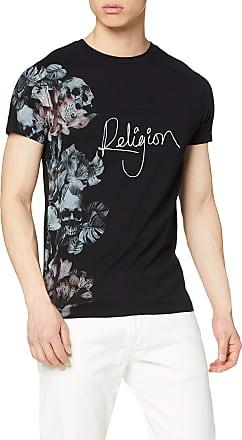 Religion Mens Hero TEE T-Shirt, Black (Black 001), Medium (Size:M)
