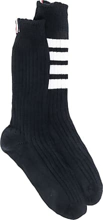 Thom Browne 4-bar detail socks - Blue