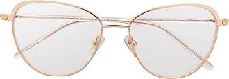 S`Nob Armação de óculos gatinho Madama - Marrom