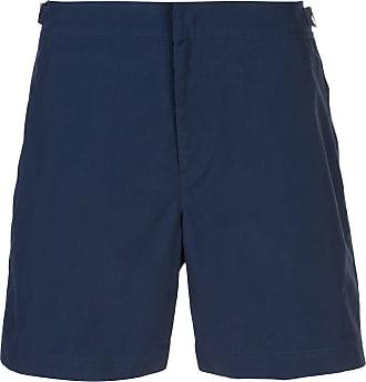 Orlebar Brown Short de natação midi - Azul