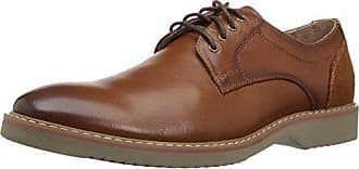 Florsheim Mens Union Plain Toe Oxford Dress Casual Shoe, Saddle tan, 12 D US
