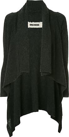 Uma Wang knit draped cardigan - Grey