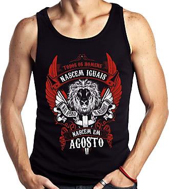 Dragon Store Camiseta Regata Homens de Agosto os Melhores Signo Leão