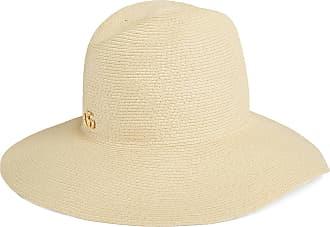 Gucci Cappello a falda larga effetto paglia 9b4f7b8984d3