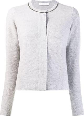 Fabiana Filippi long sleeve cardigan - Grey