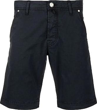 Jacob Cohen Navy blue cotton bermuda shorts