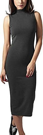 Urban Classics Ladies Long Turtleneck Dress Vestito Donna