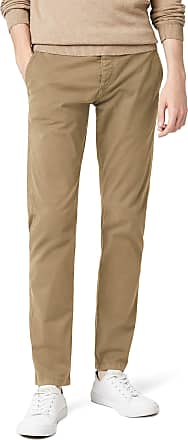 Selected HOMME Mens SHHONELUCA ST PANTS NOOS Trousers,Beige (Greige),W33/L32