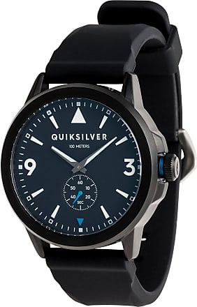 Quiksilver Kombat Silicone - Analogue Watch - Men - ONE SIZE - Black
