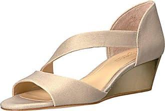 Imagine Vince Camuto Womens JEFRE Wedge Sandal, Soft Gold, 10 Medium US