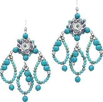 Tinna Jewelry Brinco Iolitas E Turquesas (Prateado)