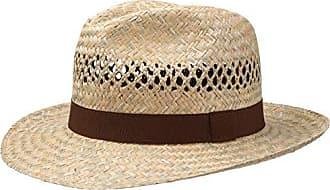 Lipodo Carsell Traveller Strohhut Sommerhut Herren Sonnenhut Fr/ühjahr//Sommer Strandhut Herrenhut aus Stroh Travellerhut Made in Italy