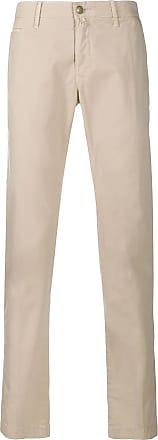 Jacob Cohen Beige cotton chino trousers
