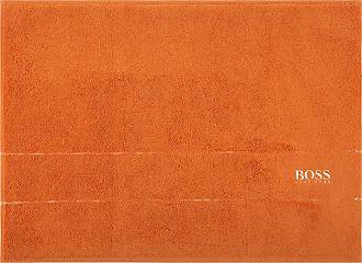HUGO BOSS Plain Bath Mat - Orange