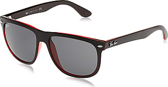 Ray-Ban Mens Highstreet Sunglasses, Negro, 56