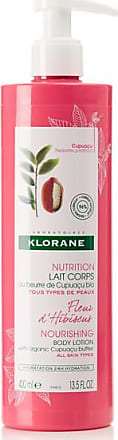Klorane Hibiscus Flower Body Lotion With Cupuaçu Butter, 400ml - Colorless