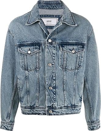 Ami Jaqueta jeans - Azul