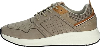 Wrangler Mens Low Taupe Sneakers Wm01070a