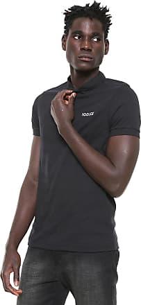 Iodice Camisa Polo Iódice Reta Logo Preta