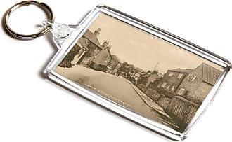 ILoveGifts KEYRING - Vintage Nottinghamshire - Upper Main Street, Calverton