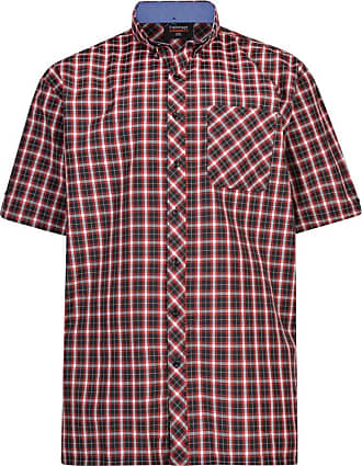 Espionage Red Check SH263 2XL to 5XL