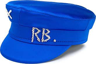 Ruslan Baginskiy Chapéu com logo em strass - Azul