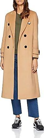 sisley abbigliamento cappotto donna color cammello