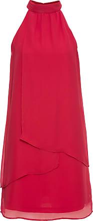 Bodyflirt Dam Klänning i röd utan ärm - BODYFLIRT c922a71b5ae55